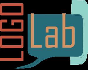 Artystyczna grafika przedstawiająca logo LOGOLab